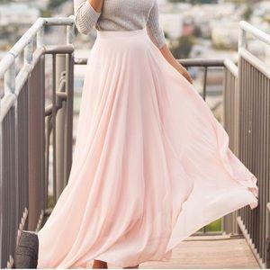 NWT Morning Lavender Amelia Maxi Skirt